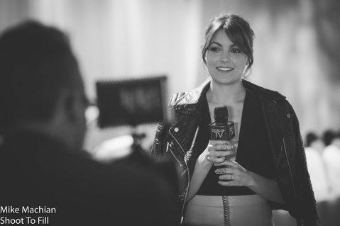 Medium shot of DevelopTV host Jennifer Lauren. (Courtesy Mike Machian)