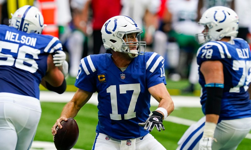 Indianapolis Colts' Frank Reich called Philip Rivers 'near flawless'