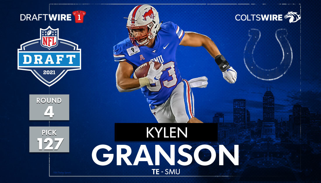 Indianapolis Colts select TE Kylen Granson: Instant analysis