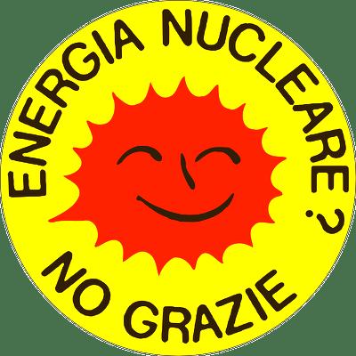 """Logo """"Nuckeare No Grazie!"""