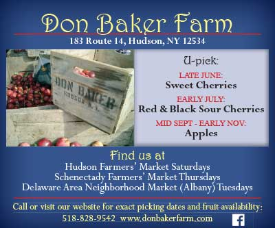 Don Baker Farm display ad