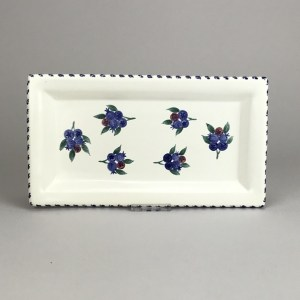 "blueberry 4"" x 9"" tray"