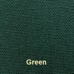 Elegance Cover Material colour Green