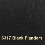 Eurobond Cover Material colour 6317 Black with Flanders Embossing
