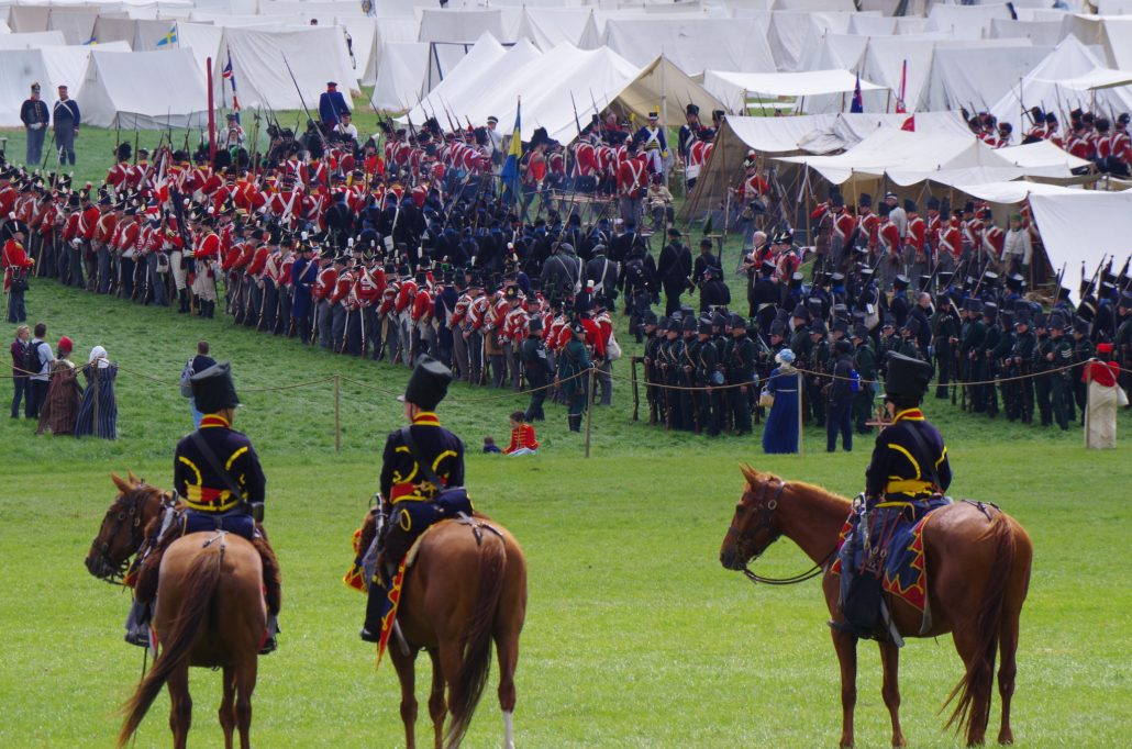 Waterloo Reenactment