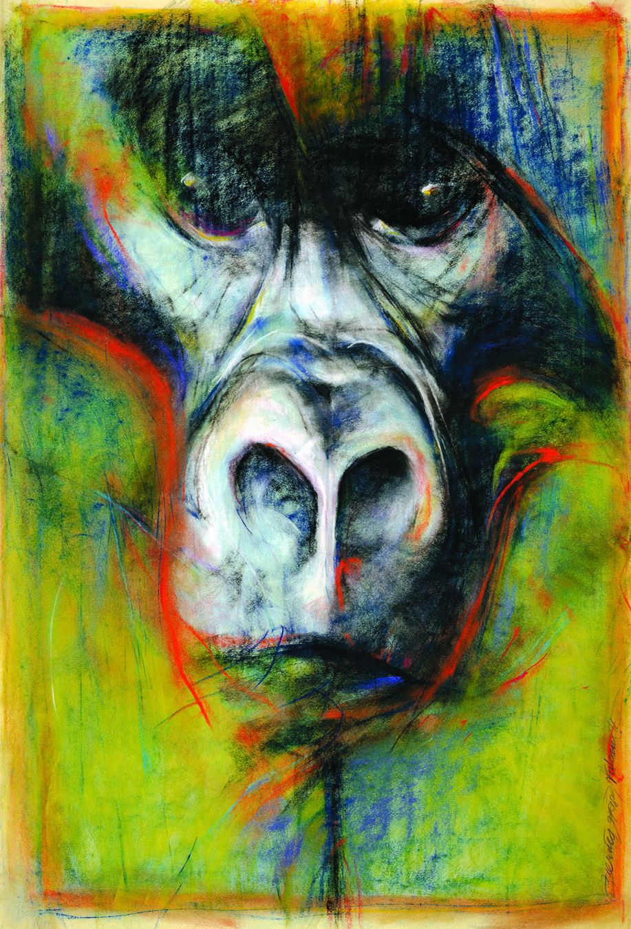 """""""Face Me"""" by Bob Ziering. Courtesy of the artist."""