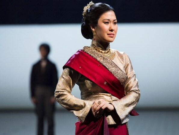 Sara Miles as Lady Thiang (Huffington Post Photo)