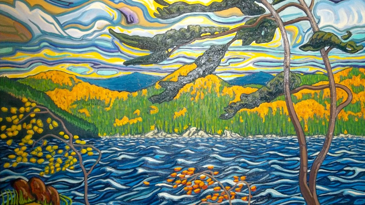 Art by Robert Tokley: Northern Landscapes