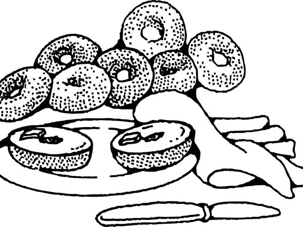 A picture of bagels.