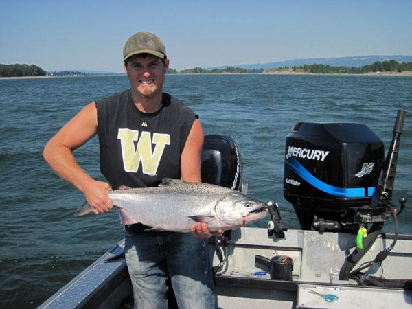 Columbia river fishing guide columbia river fishing for Columbia river fishing guides