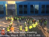 Job Wide Safety Meeting