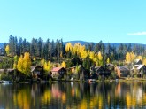 Houses on Lake