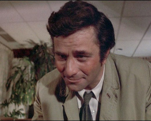 Columbo Murder by the Book gotcha