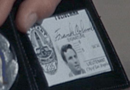 Lieutenant Columbo first name