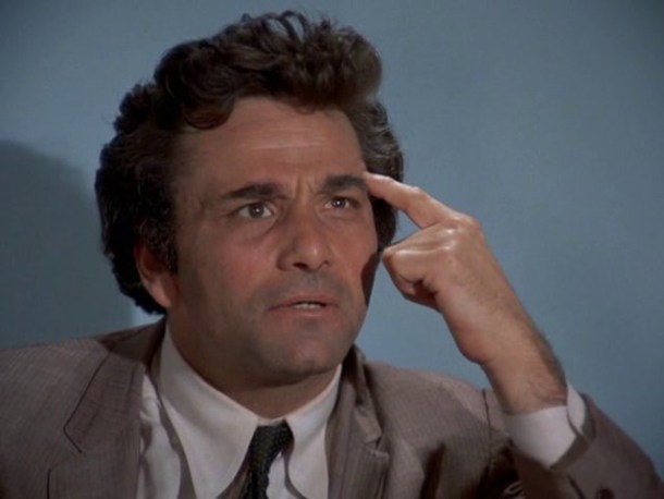 Stitch Columbo end