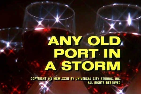 Columbo Any Old Port in a Storm opening titles