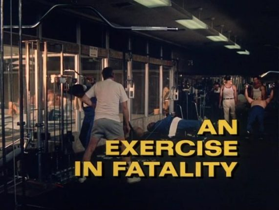 Columbo Exercise in Fatality opening titles