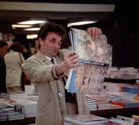 Columbo How to Dial a Murder erotic art