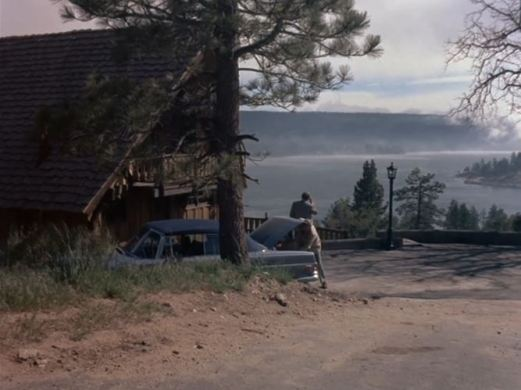 Columbo location Ken Franklin cabin