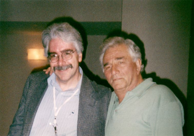 Mark Dawidziak and Peter Falk