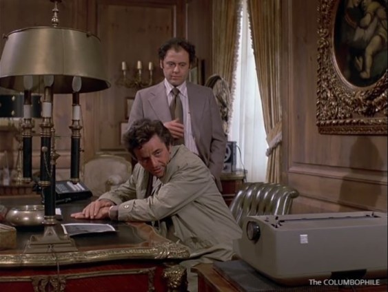Columbo Now You See Him typewriter