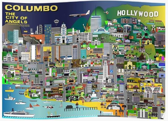 Columbo City of Angels poster