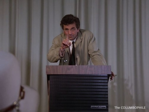 Columbo Try and Catch Me speech