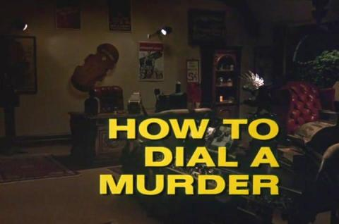 Columbo How to Dial a Murder opening titles