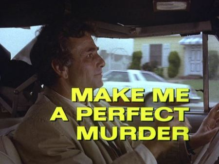 Columbo Make me a perfect murder opening titles