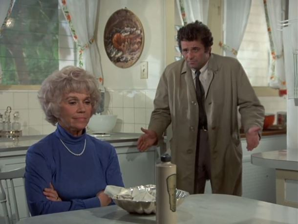 Columbo Double Shock Mrs Peck