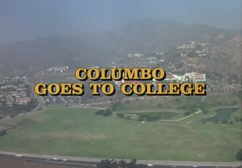 Columbo Goes to College opening titles