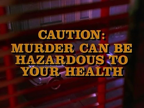 Columbo Caution: Murder Can Be Hazardous to Your Health opening titles