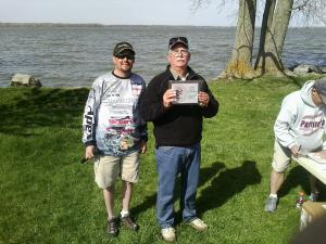 David took 3rd place in Co-Angler group.