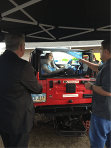10TV's Dom Tiberi Stopped by to Check out Apple CarPlay
