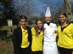 Bee Aware Team with WH Chef