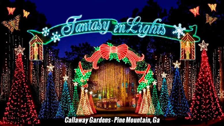 Callaway gardens fantasy in lights discount coupons
