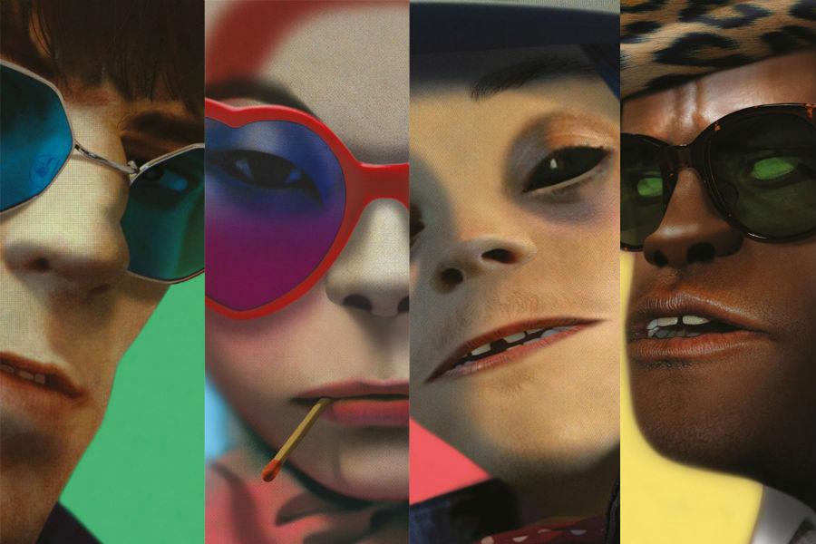 """והקופים בני אדם: על """"HUMANZ"""", האלבום החדש של הגורילאז"""