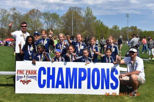 07 Girls Champions - April Ambush