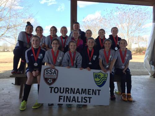 05 Girls Finalists - Starkville Frostbite