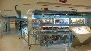 CW第二日 九展於部份樓層設置鐵馬 圖片來源: 香港同人HKDoujin