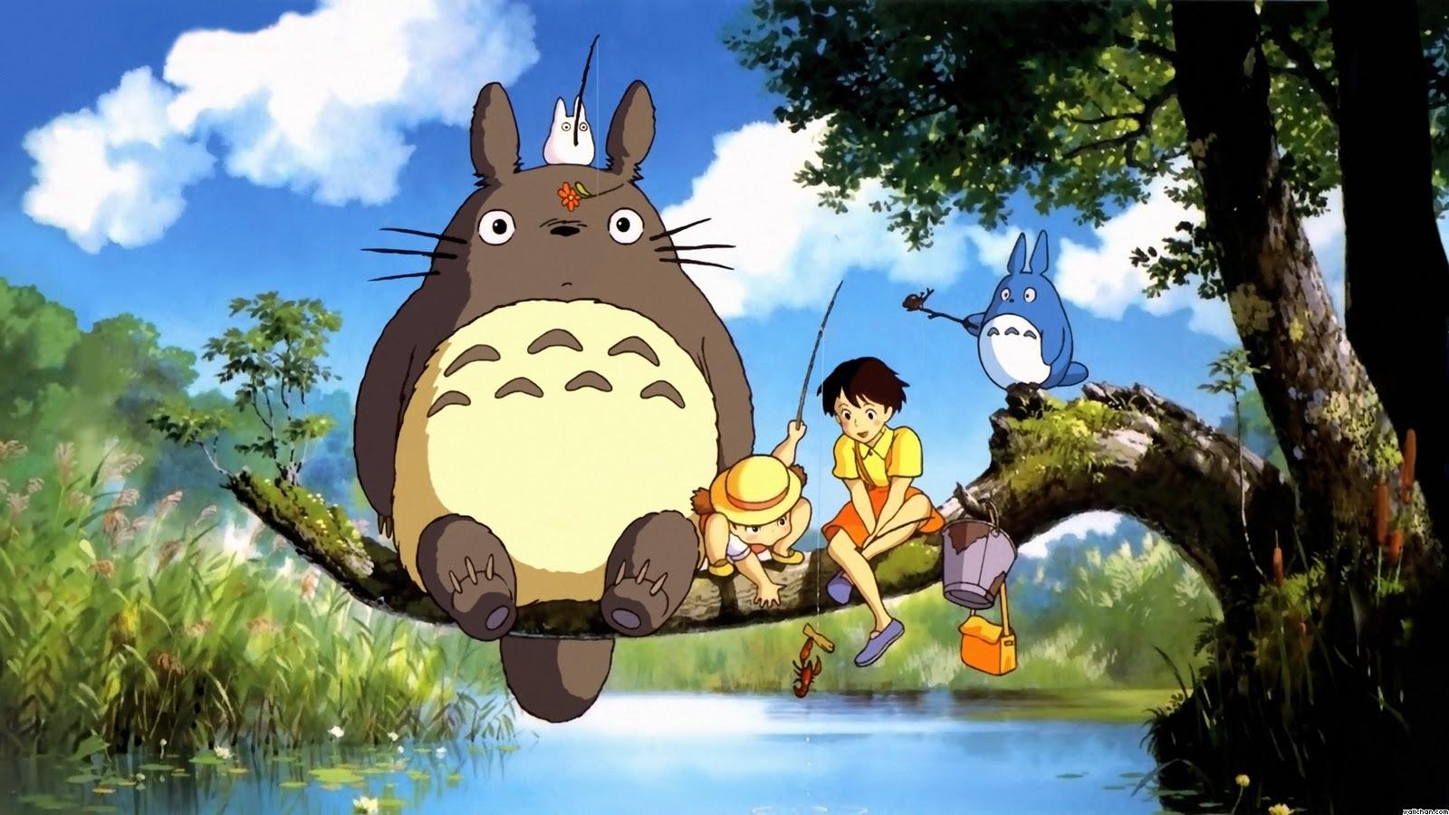 Resultado de imagen para Mi vecino Totoro 1988
