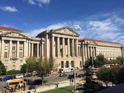 Photo of the EPA offices. Not a bad location across from the National Mall...