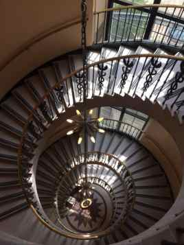 Spiral staircase in EPA