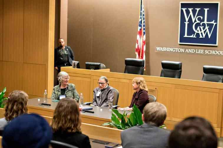 RBG_542 W&L, VMI Host Supreme Court Justice Ruth Bader Ginsburg