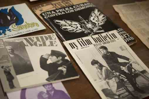 Items from a collection of W&L journalism professor O.W. Riegel, who was a propaganda expert and film buff.