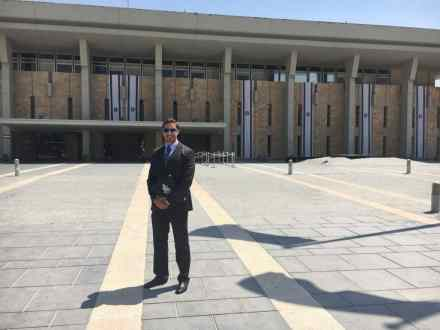 At the Knesset