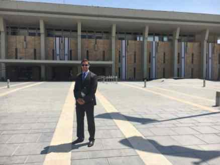 knesset Summer Experience: David Thompson '19L Advocates for the Right to Health