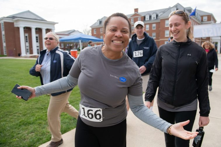 HR5k05 W&L Faculty and Staff Lace Up for First-Annual 5K