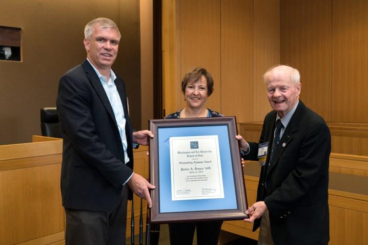 parker W&L Law Presents Alumni Awards during 2018 Reunion Celebration