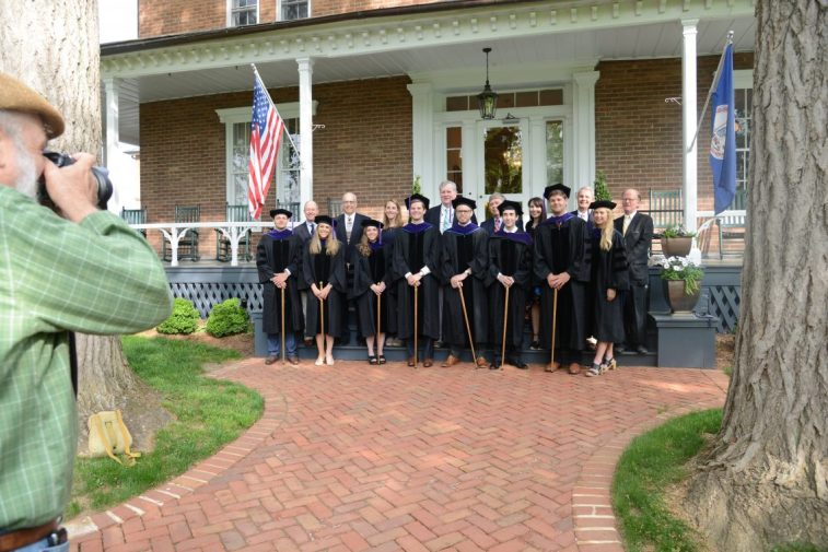 DSC_8545 School of Law Honors Graduates at 2018 Commencement Ceremony